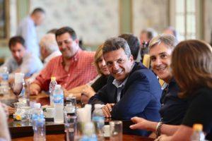 Massa apuesta a  una fuerza política que le gane a Macri