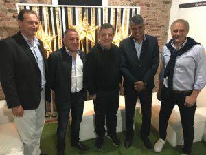 """Negri, Baldassi y Juez, """"en equipo"""", postulan el """"cambio para Córdoba"""", iniciado por Macri"""