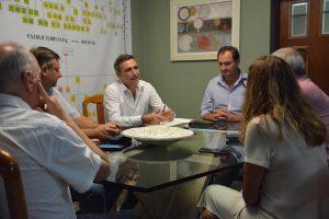 Mestre, en campaña, se reunió con Dellarossa y participó de los «Talleres de Escucha» en el sur provincial