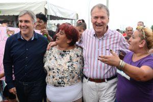 A su regreso de España, Schiaretti se mostró de nuevo con Llaryora
