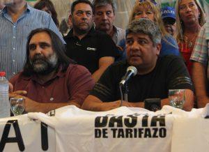 Para Pablo Moyano, el paro general «no va a pasar de marzo o abril»