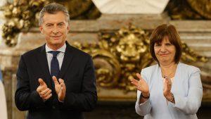 Bullrich  coqueteó con la idea de acompañar a Macri en la fórmula presidencial