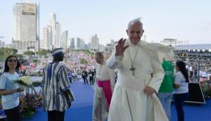 """El Papa pidió por una """"solución justa y pacífica"""" en Venezuela"""