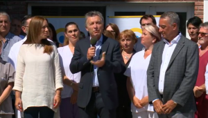 La puesta en valor de un hospital de Mar del Plata los volvió a mostrar juntos a Macri y Vidal