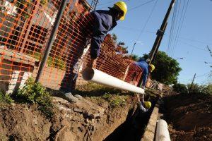 Proyectos de agua potable y cloacas para vecinos de la Laguna Mar Chiquita