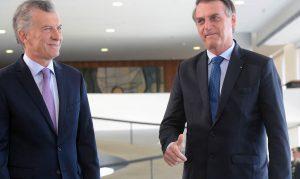 Mercosur, Venezuela y criminalidad, ejes de la reunión entre Macri y Bolsonaro