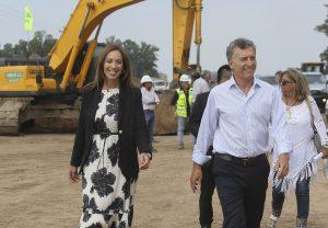 En el primer acto juntos de 2019, Macri y Vidal recorrieron las obras de la ruta 5 en Suipacha