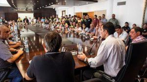 Urtubey recibió el apoyo del gremio de los taxistas a su candidatura presidencial