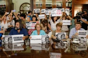 Paritarias: gremios docentes rechazaron la propuesta salarial del Gobierno de Vidal