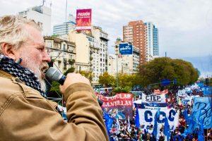 Movimientos sociales llevan adelante una jornada de protesta en 50 ciudades