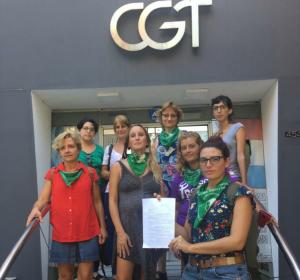 """Dirigentes de """"Ni Una Menos"""" exigen a la CGT que convoque al paro general #8M"""