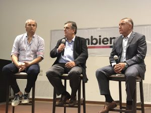 """Negri defendió su lista de """"consenso"""" que reúne a los partidos socios de Cambiemos"""