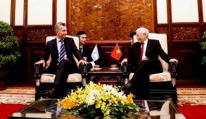 La Argentina y Vietnam acordaron seguir trabajando para alcanzar una asociación integral