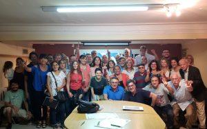 Nace un Frente filo K progresista con miras a las elecciones municipales del 12 de mayo
