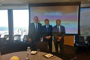 Gobierno salteño presentó la visión minera 2030 ante empresas canadienses