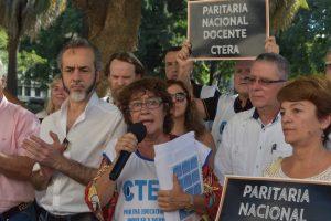«El 70% de los maestros es pobre», se quejó la titular de CTERA