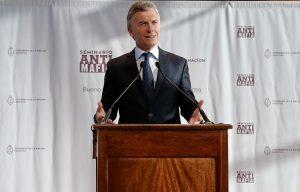 Al hablar sobre las mafias, Macri destacó que «antes el Estado era parte del problema»
