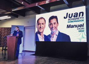 Caserio confirmó la fórmula Schiaretti – Calvo para buscar la reelección el 12 de mayo