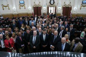 La Unicameral realizó una sesión especial por el Congreso de la Lengua Española