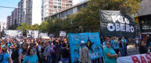 Masiva movilización en Córdoba en el marco de la jornada de lucha en el país contra «el hambre y la desocupación»
