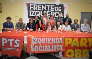 En el lanzamiento de los candidatos del FIT, Olivero aseguró que «la salida no es Macri ni el PJ, es por izquierda»