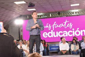 Pobreza, narcotráfico y Costo Córdoba, los ejes de campaña de Mestre en Río Cuarto