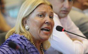 Carrió acusó a Lorenzetti de «hacerle un golpe» a Rosenkrantz en la Corte Suprema