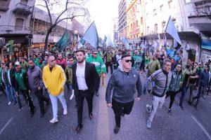 La CGT Rodríguez Peña se prepara para la movilización del 4 de abril