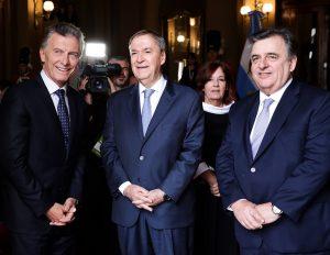 Macri: «Volver atrás sería una catástrofe para la Argentina»