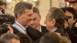 En un ceremonia del círculo más íntimo de la familia, Macri despidió a su padre