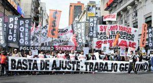"""Desde el Polo Obrero advierten que la pobreza es producto de «la política del Gobierno"""""""