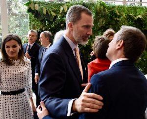 """«Le agradezco a su Majestad la generosidad que otros no tuvieron"""", dijo Mestre al quejarse del protocolo (Provincia) en la apertura del CILE"""