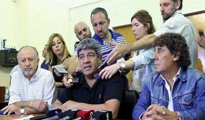 Pablo Moyano y Micheli redoblan la presión sobre la CGT por el paro general
