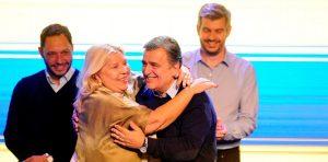 En medio de una interna al rojo vivo, Carrió reafirmó su apoyo a Negri