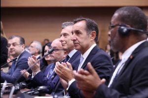 Macri afirmó que la comunidad internacional percibe a la Argentina como «un socio confiable»