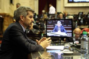 """Que gane Cristina Kirchner sería un fracaso de la Argentina, pero eso no va a ocurrir"", afirmó Peña"