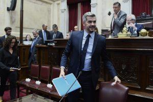 En el Senado, Peña defendió las políticas adoptadas por el Gobierno de Macri