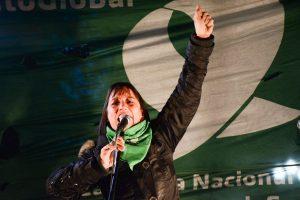 Diputada de izquierda pidió redoblar la movilización para «derribar» el proyecto de Código Penal