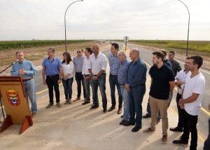 Schiaretti habilitó un tramo de la Circunvalación norte de Río Tercero que demandó una inversión de $100 millones