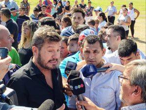 """Un frente con Lavagna, Massa y Urtubey me parece buenísimo"", dijo Tinelli"