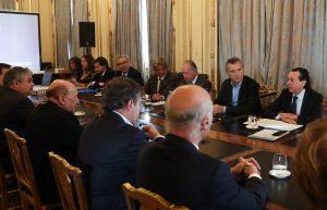 Tras la reunión con Macri, Sica destacó que los empresarios tiene «voluntad de seguir trabajando con el Gobierno»