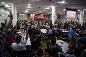 El Congreso del PO fijó política y candidatos frente a la crisis y las elecciones
