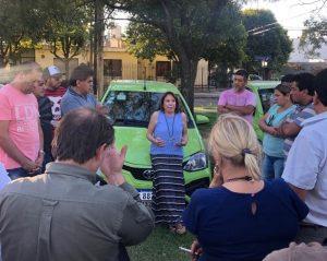 Riutort rechazó que «se sigan acumulando en manos de unos pocos cada vez más licencias» de taxis y remis