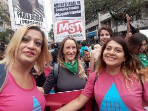 En su pelea por la igualdad de género, Echevarría lleva en su lista a candidata trans