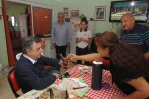 Negri promete que si es gobernador, los jubilados no pagarán el inmobiliario