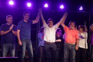 Calvo celebró la reelección de Canto en Saldán y el triunfo en 28 localidades