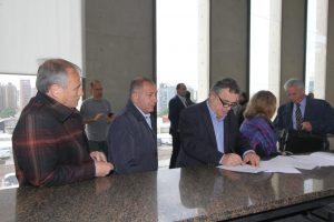Negri, Baldassi y Juez pidieron a la Justicia la «urgente investigación» de la denuncia contra Calvo