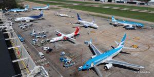 Aumenta el número de pasajeros que vuela dentro del país sin pasar por Buenos Aires