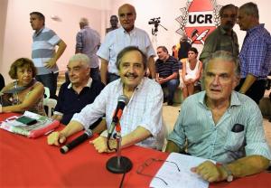 Alfonsín dejó planteada la hipótesis de la derrota de Macri