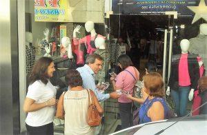 Beltrán pidió «medidas de fondo» para acompañar a los comerciantes ante la crisis económica